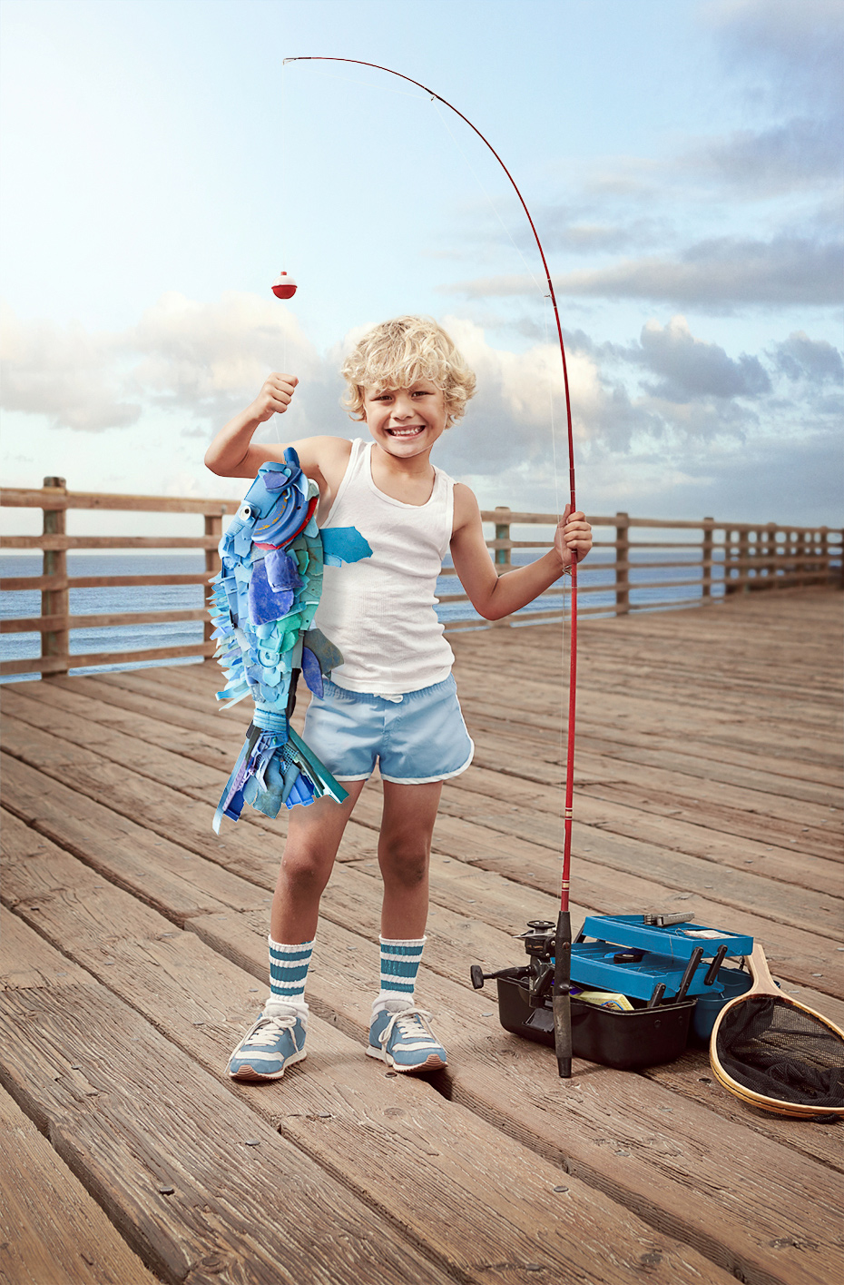 Catch & Recycle: Pier Fishing 1